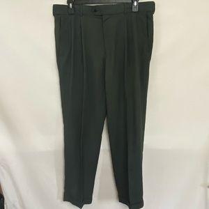 Men's Stafford Pleated Dress Pants Size 38x32 R-68